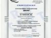 Certificat calitate Tehnoedil Buzau